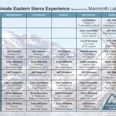 Mammoth Lakes Ultimate Eastern Sierra Experience