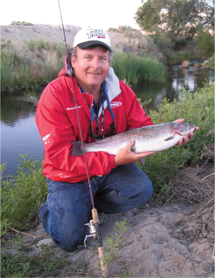 Eastern sierra trout fishing techniques fred hall shows for Eastern sierra fishing