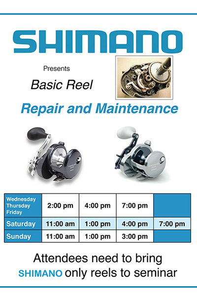 Shimano Reel Repair and Maintenance