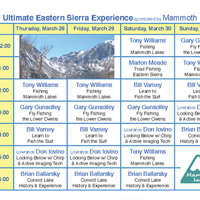 Ultimate Eastern Sierra Experience
